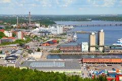 Stockholm port Stock Images