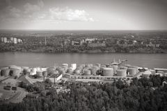 Stockholm port Royalty Free Stock Image