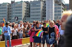 Stockholm Pride Stock Images