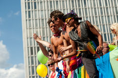 Stockholm Pride Parade 2012 Stock Photography