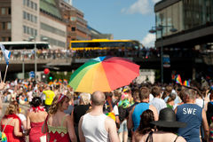 Stockholm Pride Parade 2012 Royalty Free Stock Photos