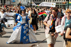 Stockholm Pride Parade 2012 Royalty Free Stock Image