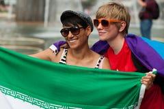 Stockholm Pride Parade 2012 Stock Image