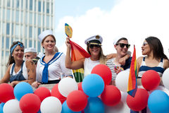 Stockholm Pride Parade 2012 Royalty Free Stock Photography