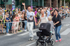 Stockholm Pride Parade 2016 Stock Photography