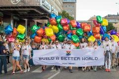 Stockholm Pride Parade 2016 Stock Image