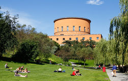 Stockholm public library Royalty Free Stock Image