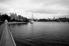 Stockholm-Punkt. Lizenzfreies Stockbild