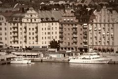 Stockholm Retro- Stockfoto