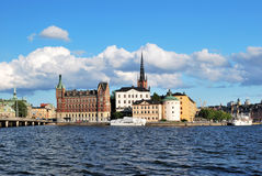 Stockholm,  Riddarholmen Royalty Free Stock Photography