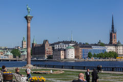 Stockholm Riddarholmen Church Stock Photo