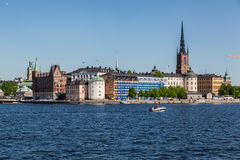 Stockholm Riddarholmen Church Stock Photo