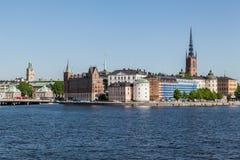 Stockholm Riddarholmen Church Stock Photography