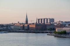 Stockholm Riddarholmen Church Royalty Free Stock Image