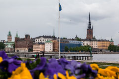 Stockholm Riddarholmen Church Stock Image