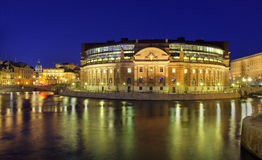 Stockholm, Rigsdag Royalty Free Stock Photo