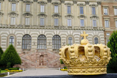 Stockholm Royal Palace in old town Stock Photography