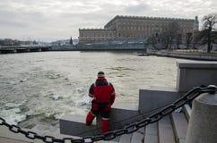 Stockholm Royal Palace in Sweden Stock Image