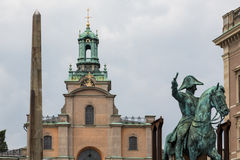 Stockholm's Church of St. Nicholas Royalty Free Stock Photo