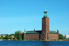 Stockholm's City Hall Royalty Free Stock Images