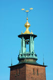 Stockholm's City Hall Stock Photo