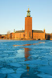 Stockholm's City Hall (Stadshuset) Royalty Free Stock Photos