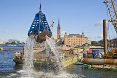 Stockholm S Cityscape Royalty Free Stock Photography