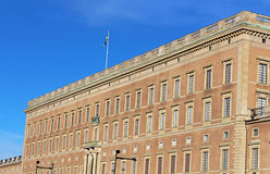 Stockholm's Royal Palace in Gamla Stan Stock Photography