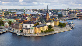 Stockholm - Schweden stockbild