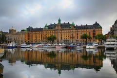 STOCKHOLM, SCHWEDEN - 20. AUGUST 2016: Weg und Besuch vieler Leute Lizenzfreie Stockfotos