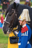 STOCKHOLM - SEP, 22: Closeup of the Shirehorse Tor the Drumhorse Royalty Free Stock Photo
