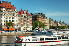 Stockholm sightseeing Royalty Free Stock Images