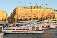 Stockholm sightseeing Royalty Free Stock Photography