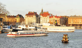 Stockholm sightseeing Royalty Free Stock Image