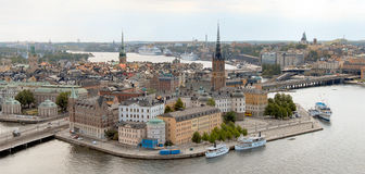stockholm sikt Royaltyfri Bild