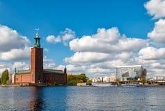 Stockholm sikt Royaltyfri Foto