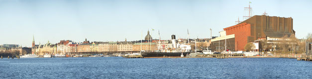 Stockholm skansen vasa museum Royalty Free Stock Image