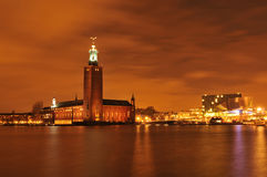 Stockholm skyline Royalty Free Stock Photography