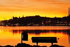 Stockholm Skyline Royalty Free Stock Photo