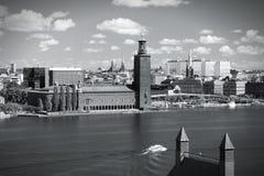 Stockholm skyline Royalty Free Stock Images