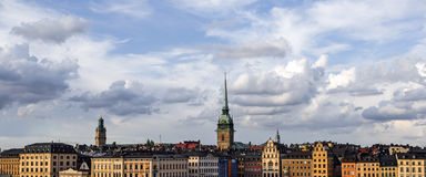 Stockholm skyline Royalty Free Stock Images
