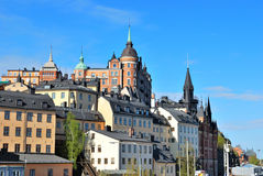 Stockholm, Sodermalm Royalty Free Stock Image
