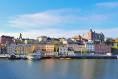 Stockholm, Sodermalm Royalty Free Stock Photography