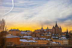 Stockholm Sodermalm Stock Photography