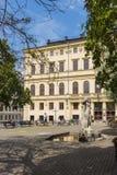 Stockholm Sodermalm: Mosebacke Square Royalty Free Stock Images