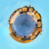 Stockholm, spherical panorama. Royalty Free Stock Images