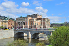 Stockholm in  spring Royalty Free Stock Photography