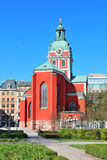 Stockholm, St. Jacob Church Royalty Free Stock Photography