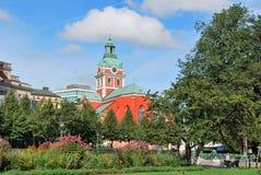 Stockholm.  St.Jakob church Stock Image
