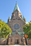 Stockholm. St. Sofia Church Royalty Free Stock Photography